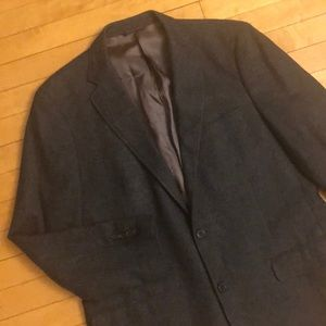 42R Brooks Brothers Wool Cashmere Tweed Sport Coat